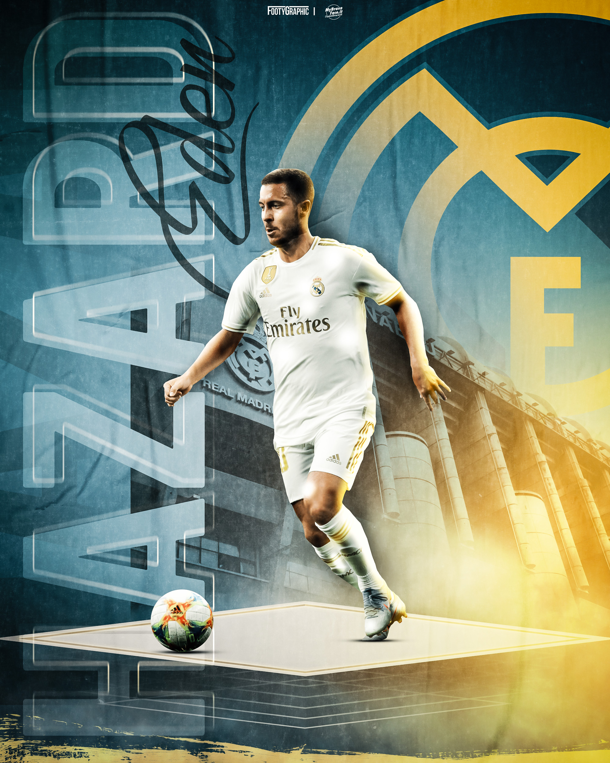 Photomanipulation in collaboration with FootyGraphic