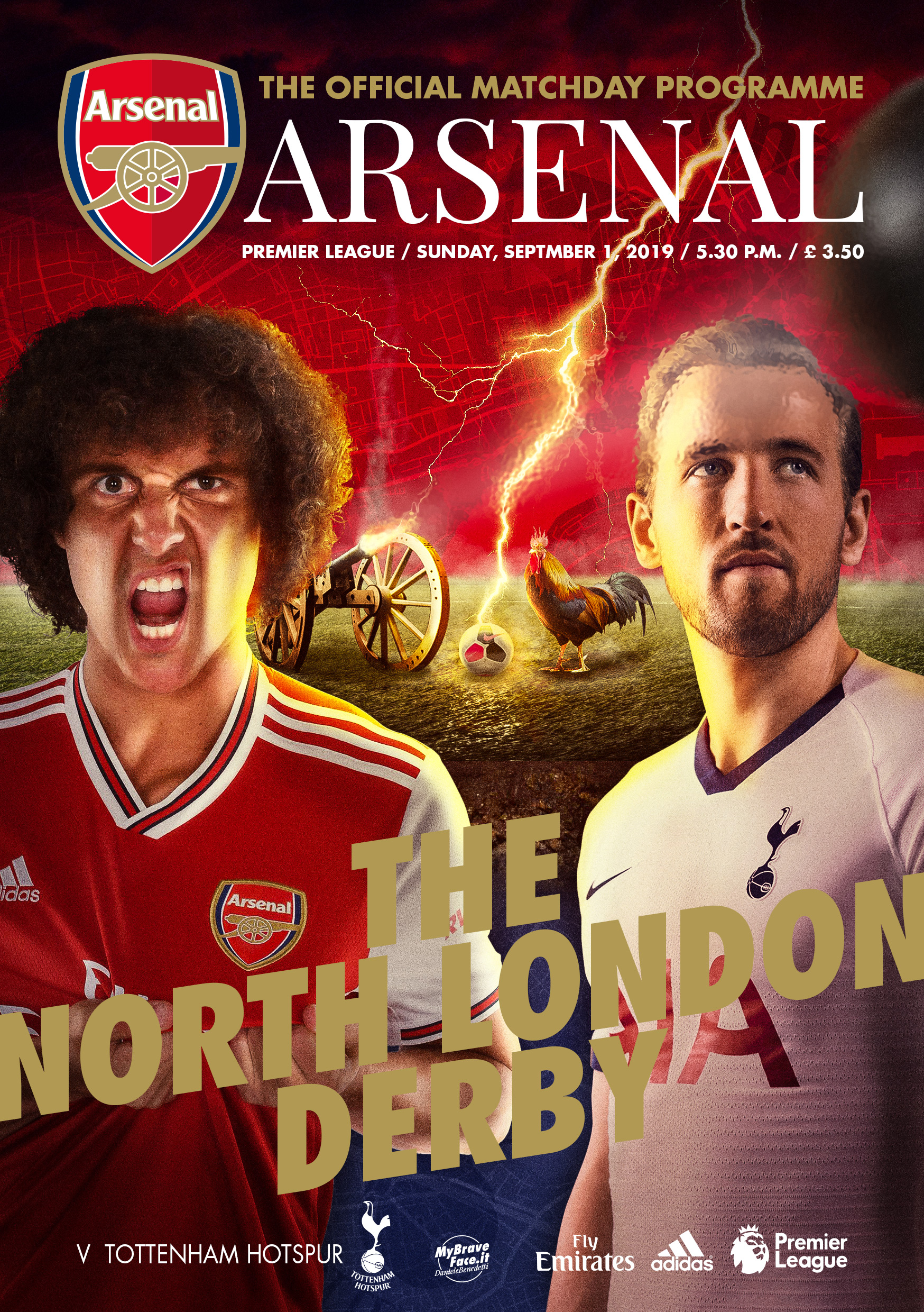 Arsenal Match Programme for #FGCompetition