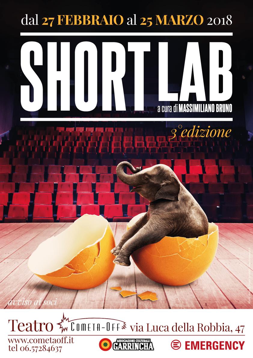 locandina Short lab 2018