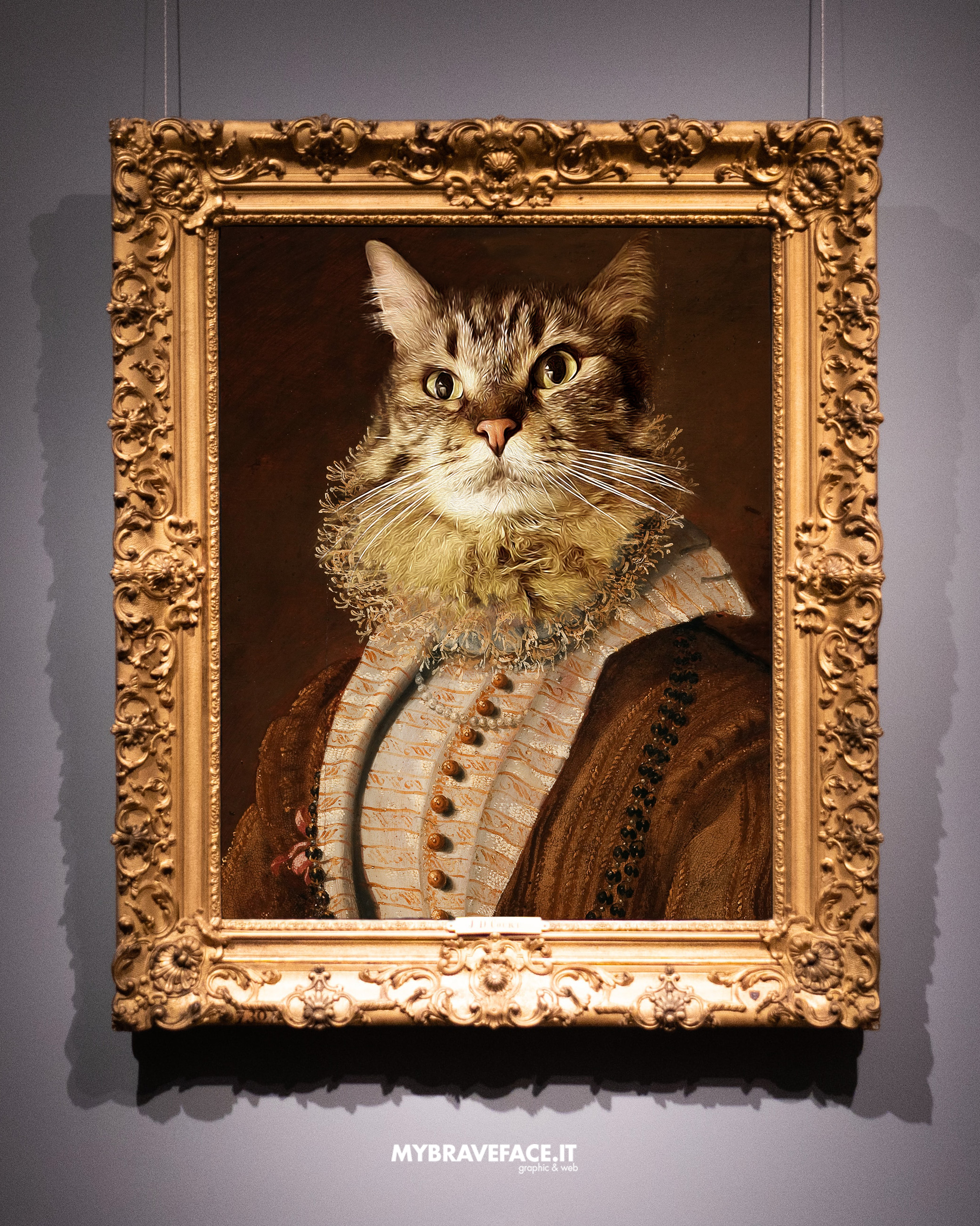 photomanipulation The Art Cat