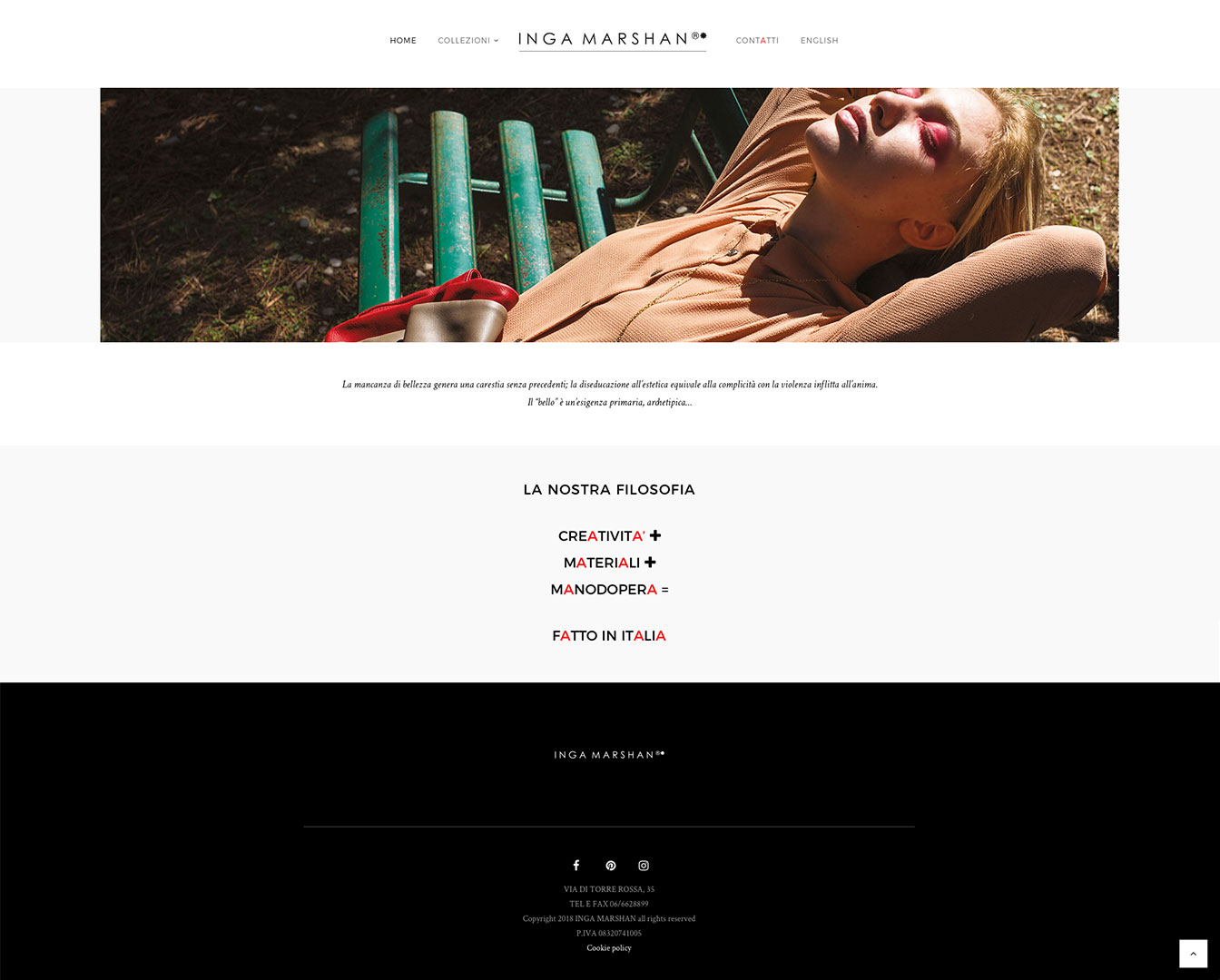 Inga Marshan - website