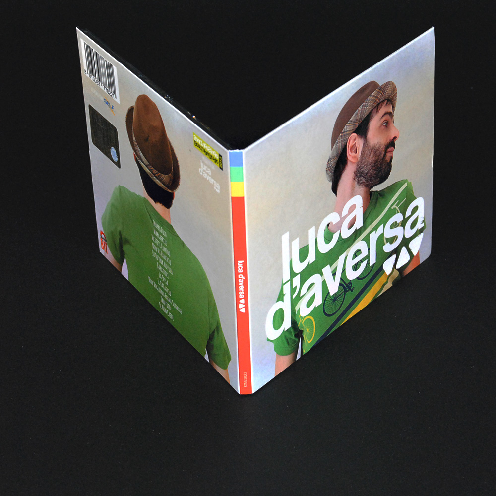 Luca D'Aversa - Cover e packaging