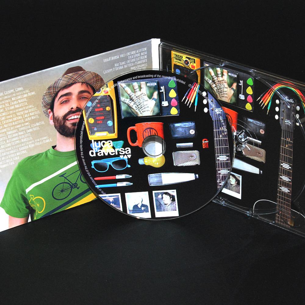 Luca D'Aversa - Cover e packaging