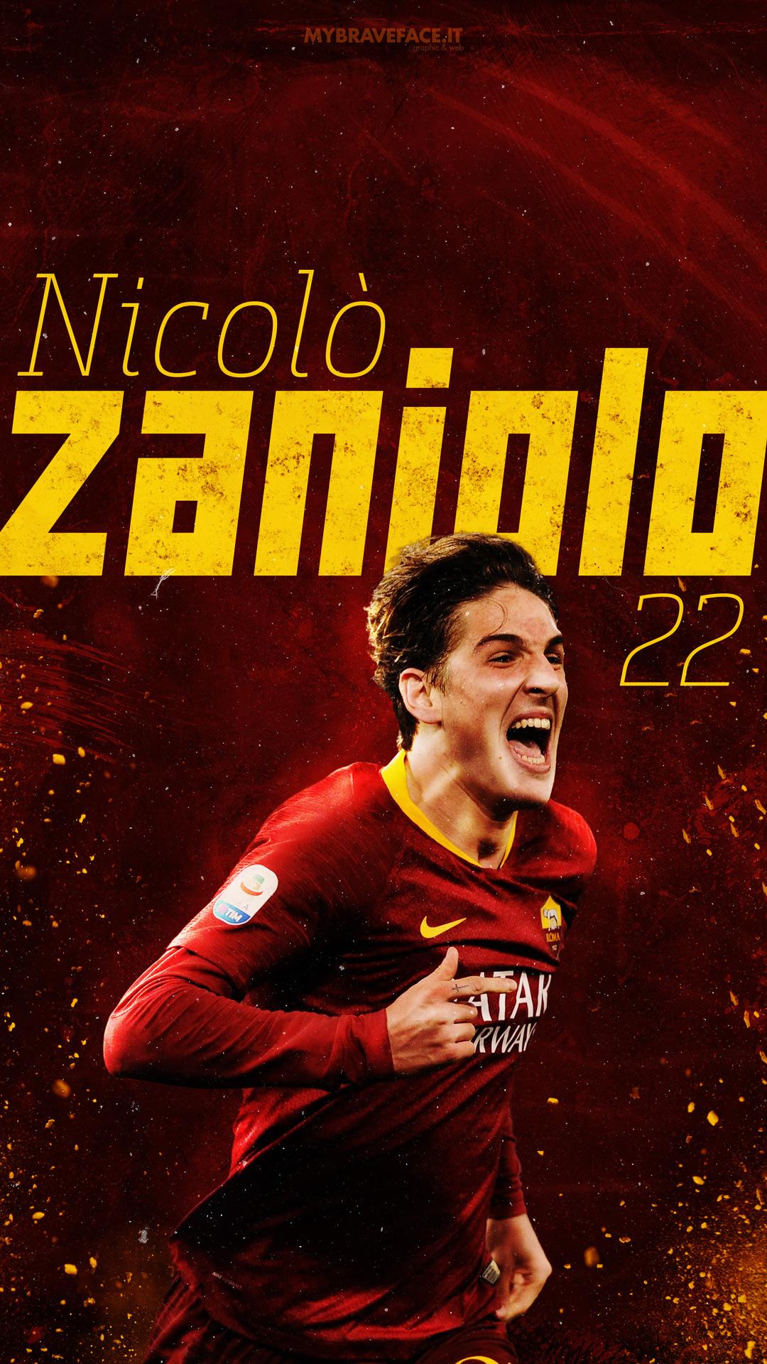 Nicolò Zaniolo Wallpaper Lockscreen