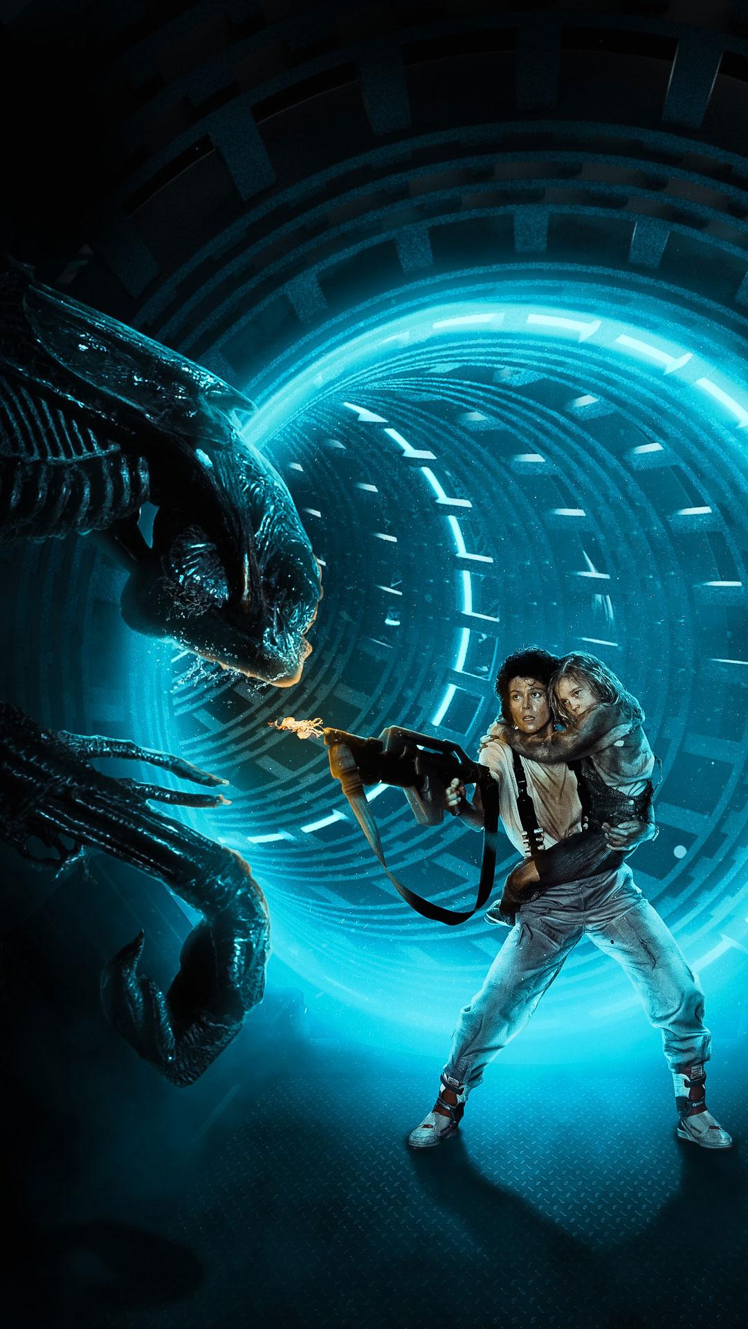 Aliens tribute Lockscreen