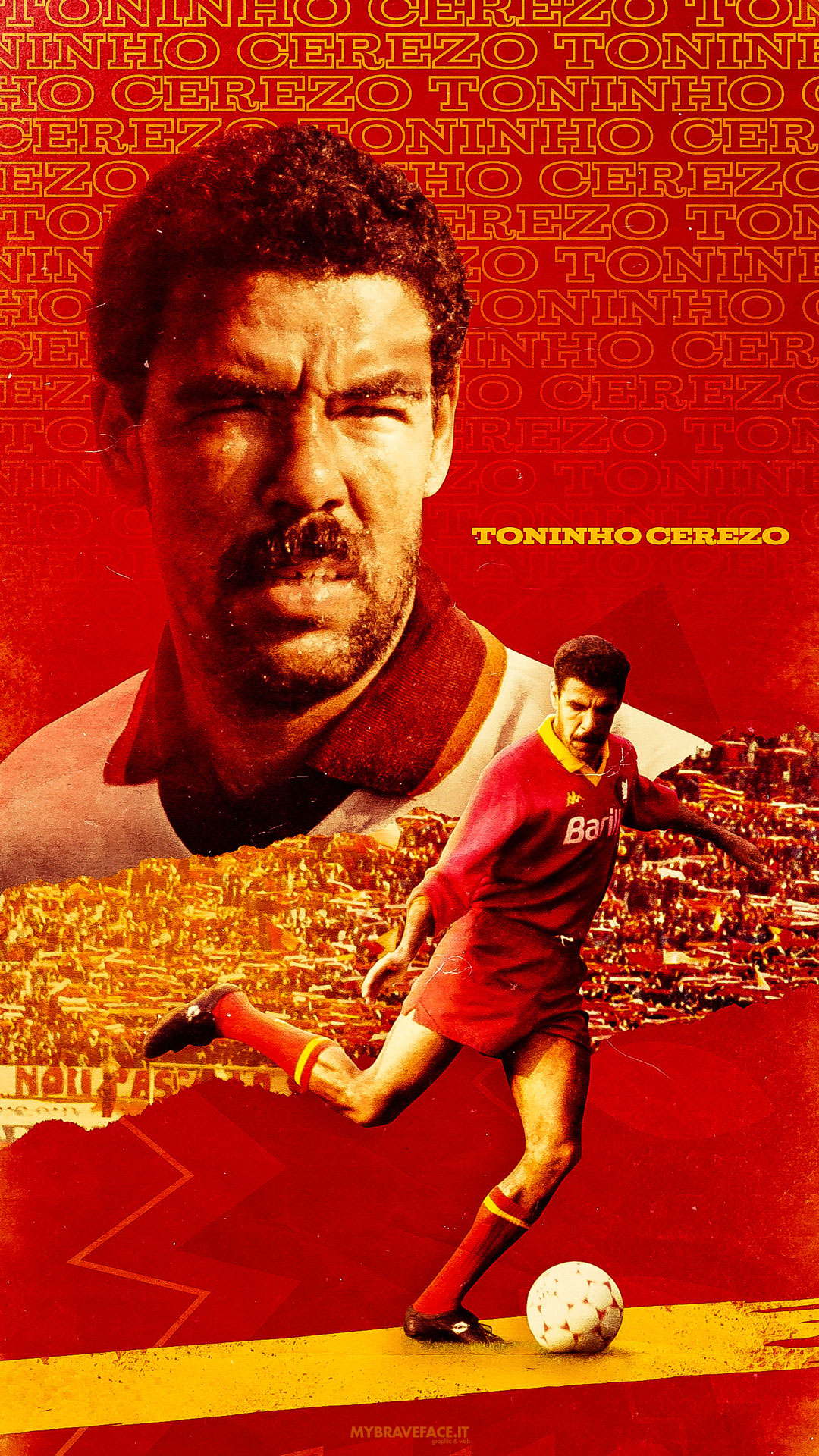 Toninho Cerezo Wallpaper lockscreen