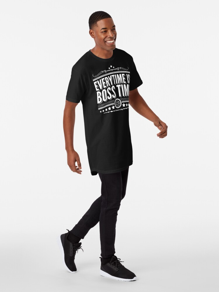 Every time is Boss time (Springsteen tribute) Long T-Shirt