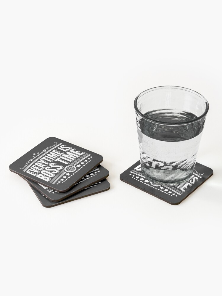 Every time is Boss time (Springsteen tribute) Coasters (Set of 4)