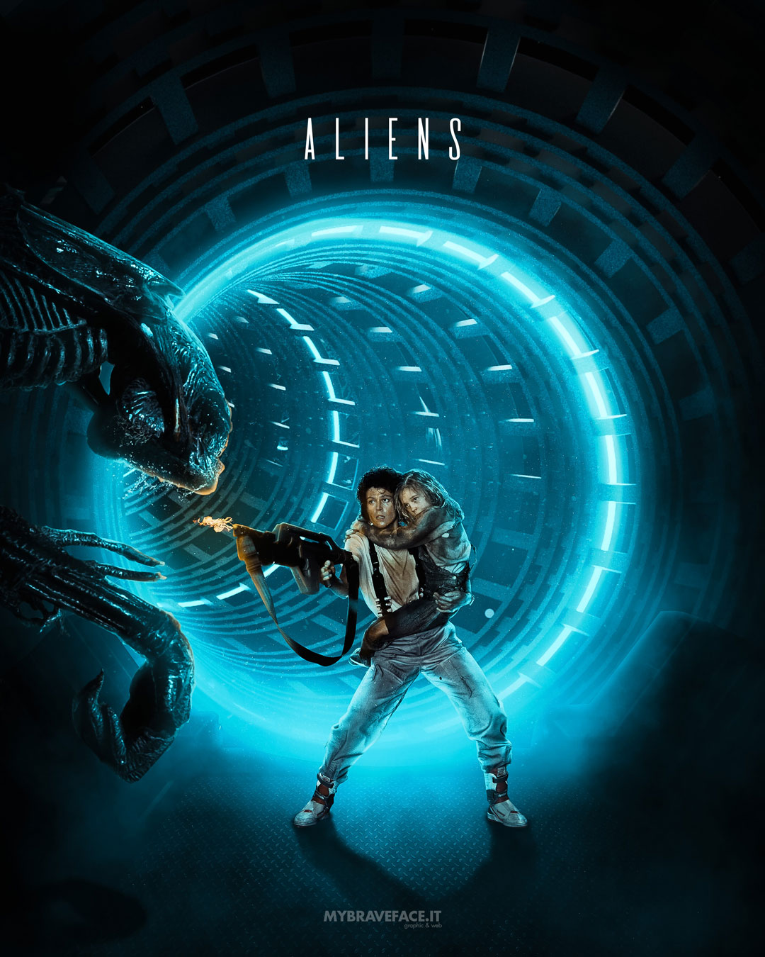 Aliens - photomanipulation