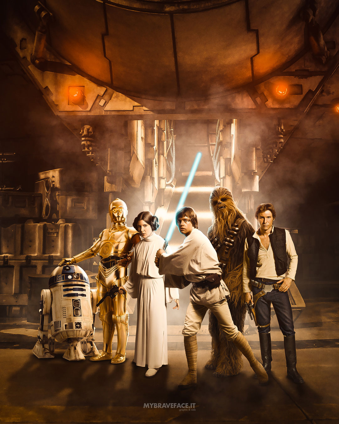 #MayThe4thBeWithYou - Photomanipulation